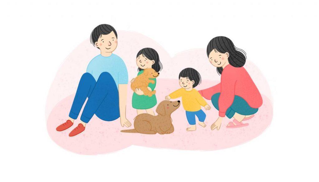 jak wspierac psa kiedy w domu pojawia sie dziecko